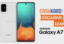 [Exclusive] Samsung Galaxy A71 Renders and 360 Degree Video Leaked: Quad Rare Camera &