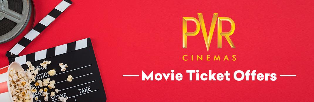 PVR Cinemas Movie Offers