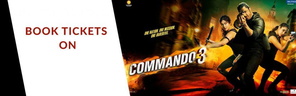 Commando Movie Ticket Offers