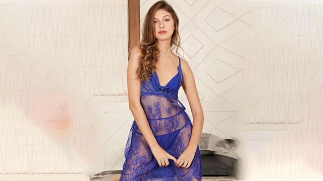 Floral Lace Babydoll Dress
