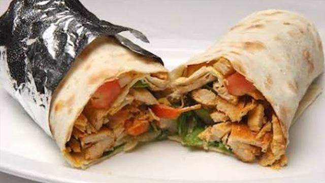 Chicken Tandoori Shawarma