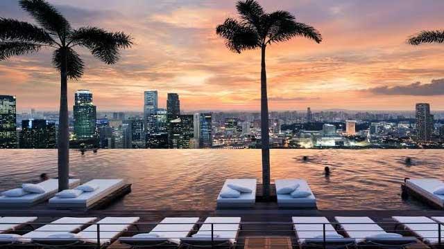 Marina Bay Sands Infinity Pool Singapore