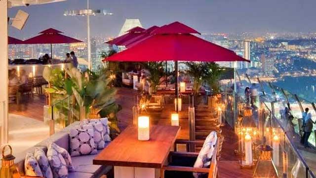 Marina Bay Sands SkyPark Restaurants & Bars