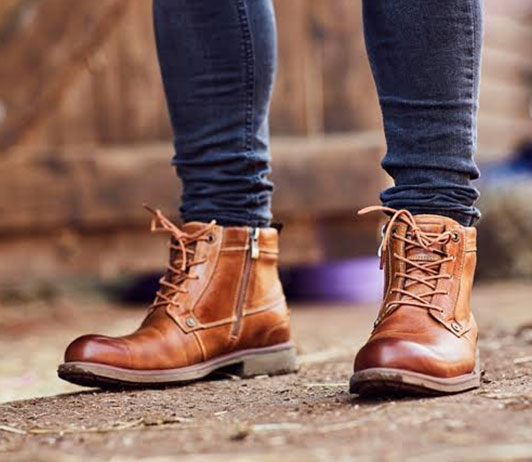 Mens Boots brands on Myntra
