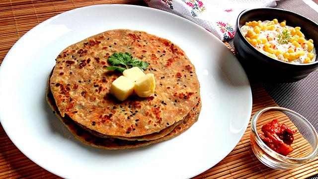 Onion Paratha