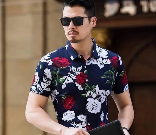 men's-floral-shirts brands myntra