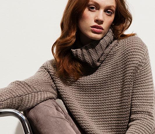 women pullovers on Ajio