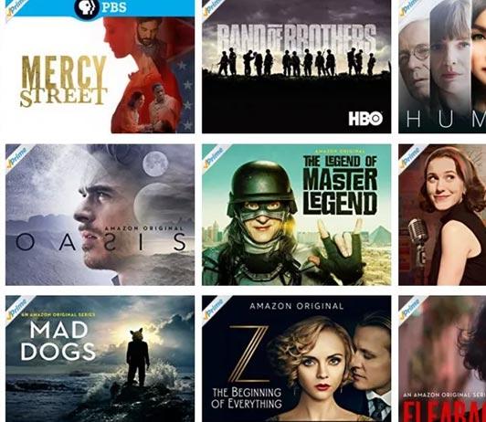 Thriller movies on Amazon Prime