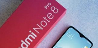 Redmi Note 8 Pro black on amazon