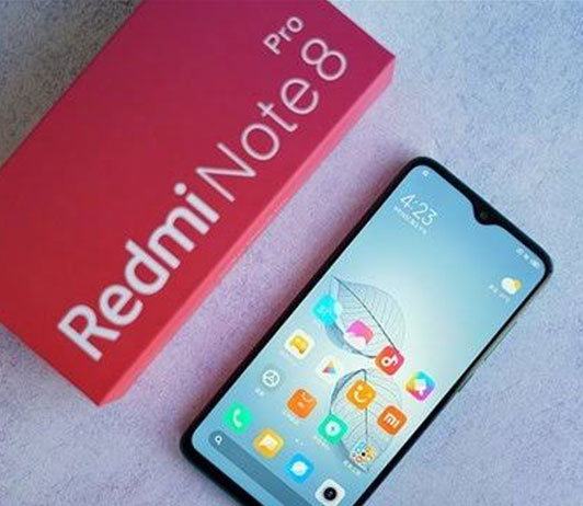 Redmi Note 8 Pro black on amazon