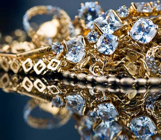 gold & dimond jewellery on amazon fashion