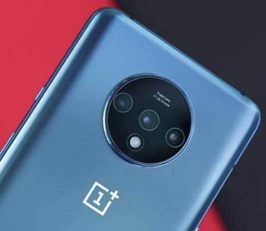 oneplus 7th blue color back side