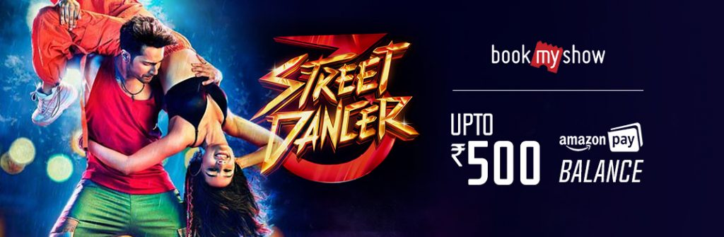 Street Dancer 3D BookMyShow M