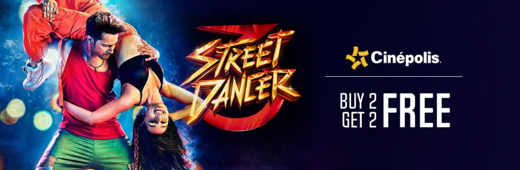 Street Dancer 3D Cinepolis Offers