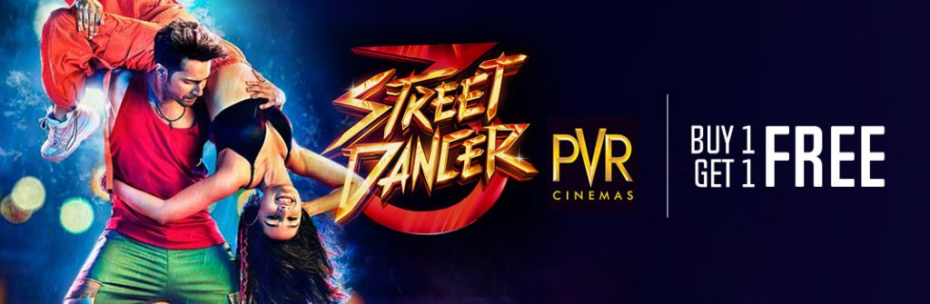 Street Dancer 3D PVR Ticket Booking Offers