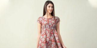 a-line dresses on ajio