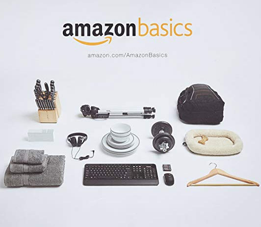 Amazon basics- Amazon Inhouse Brands
