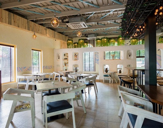 best cafes for all girls outing on swiggy
