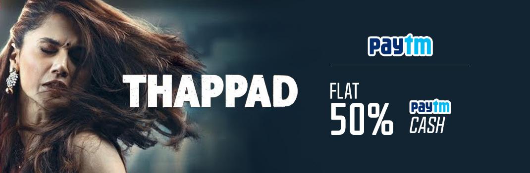 Paytm Thappad Movie Offers