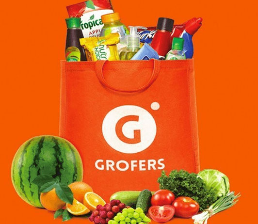 groceries on grofers