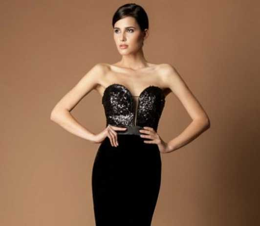 Evening wear collection on Nykaa
