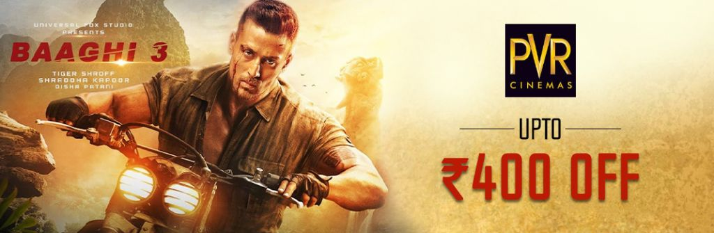 Baaghi 3 PVR Ticket Booking Offers