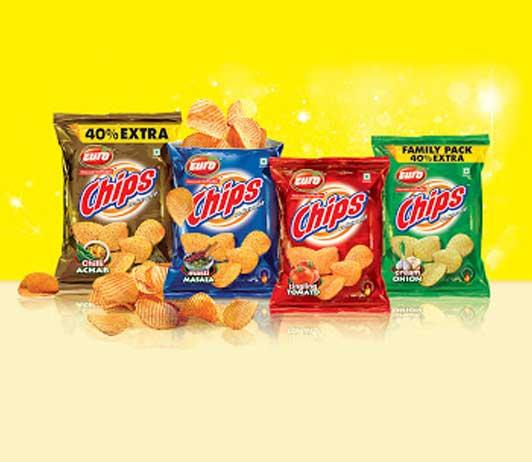 Chips & Namkeens snacks