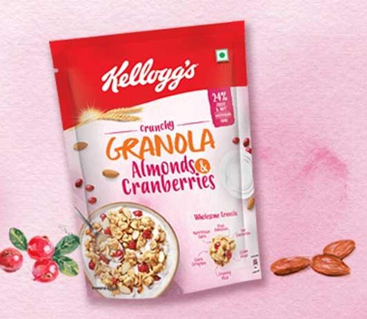 Kelloggs-muesli breakfast