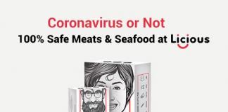 Coronavirus or Not – 100% Safe Meats & Seafood at Licious