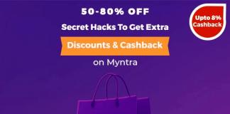 Myntra End Of Reason Sale: Upto 80% Off + A Secret Hack For Bonus Savings!