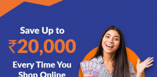 Save Up to Rs. 20,000 Every Time You Shop Online Via CashKaro