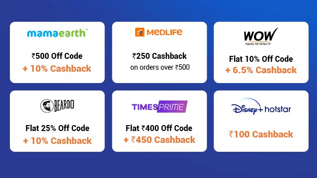 Other Offers on Big Cashback Days