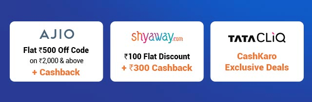 Top Offers on Fashion During Big Cashback Days