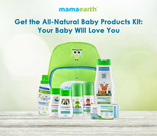 Get the All-Natural Baby Products Kit: Your Baby Will Love You