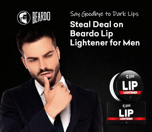 Steal Deal Alert: Say Goodbye to Dark Lips with Beardo Lip Lightener