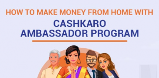 How To Make Money From Home With The CashKaro Ambassador Program