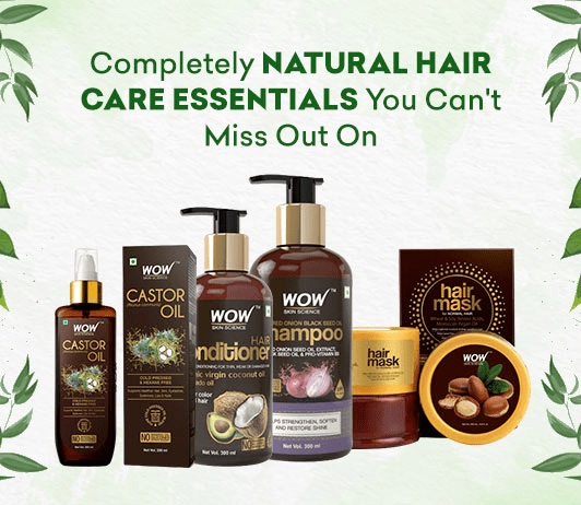 Completely Natural Hair Care Essentials