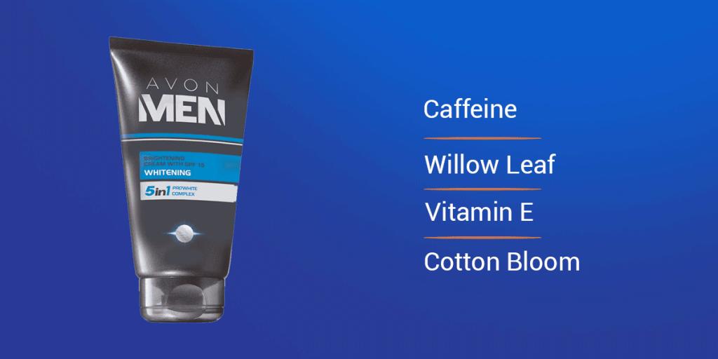 Avon For Men Brightening Cream With SPF-15