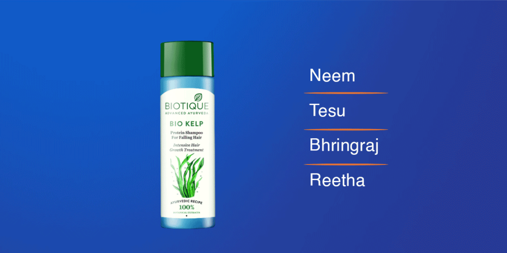 Biotique Bio Kelp Fresh Growth Shampoo