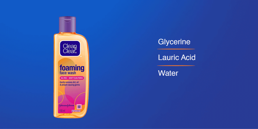 Clean & Clear Face Wash for women