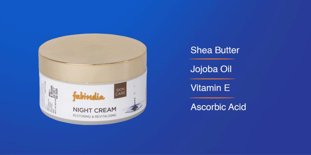 FabIndia Vitamin E Enriched Night Cream