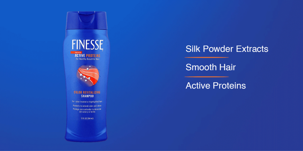 Finesse shampoo for coloured hair