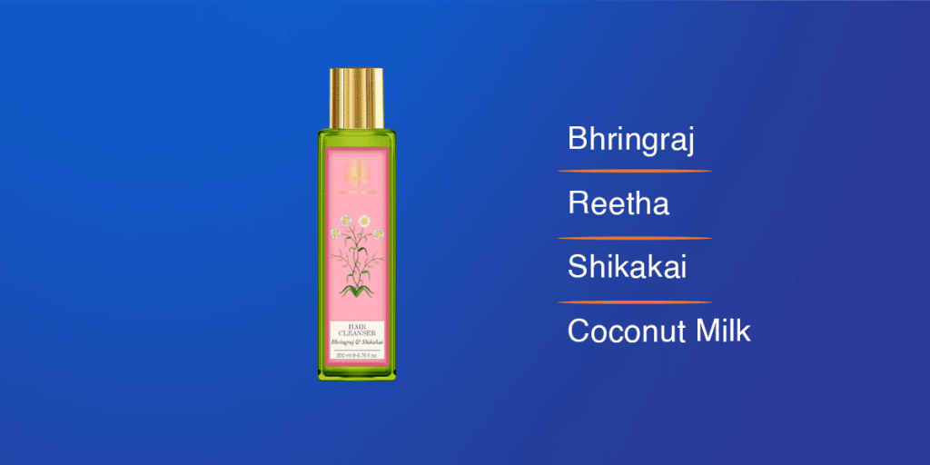 Forest Essentials Bhringraj & Shikakai Hair Cleanser