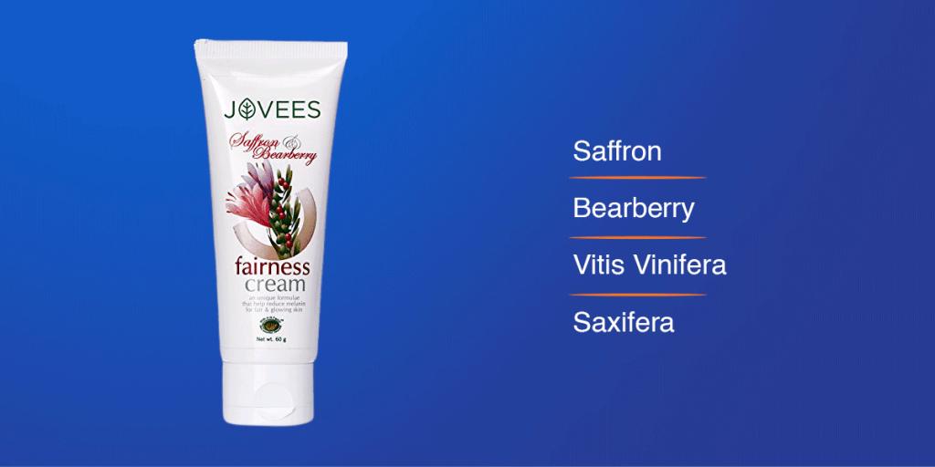 Jovees Saffron Bearberry Fairness Cream