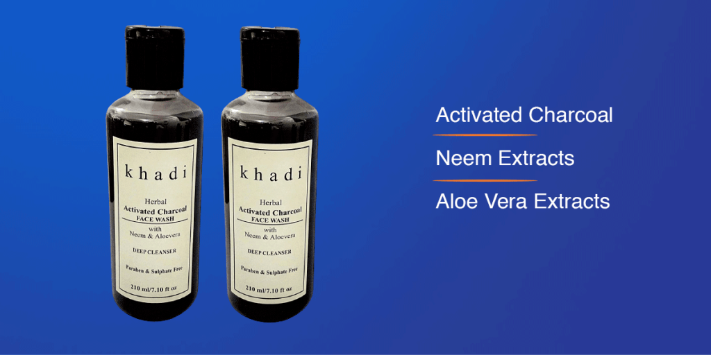 Khadi Chrcoal Face Wash