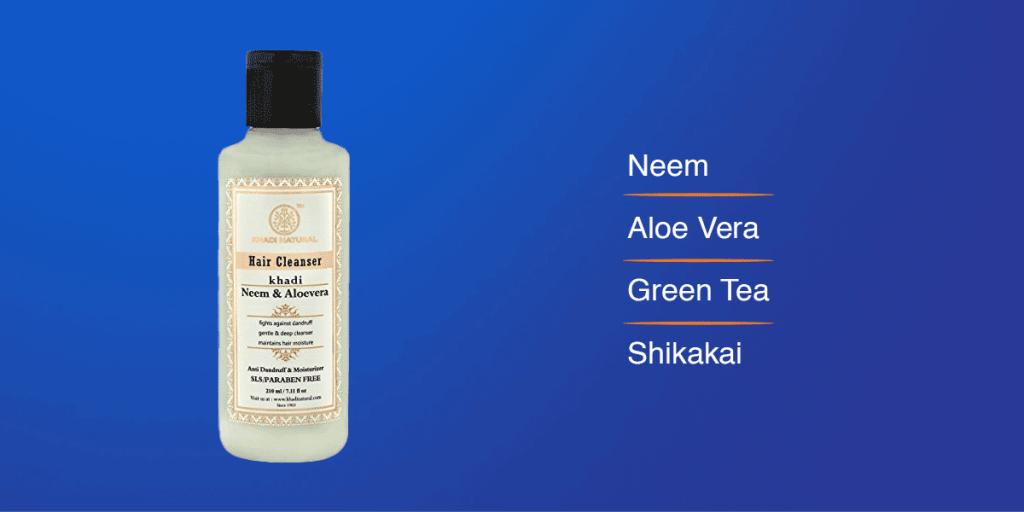 Khadi Sulphate free shampoo