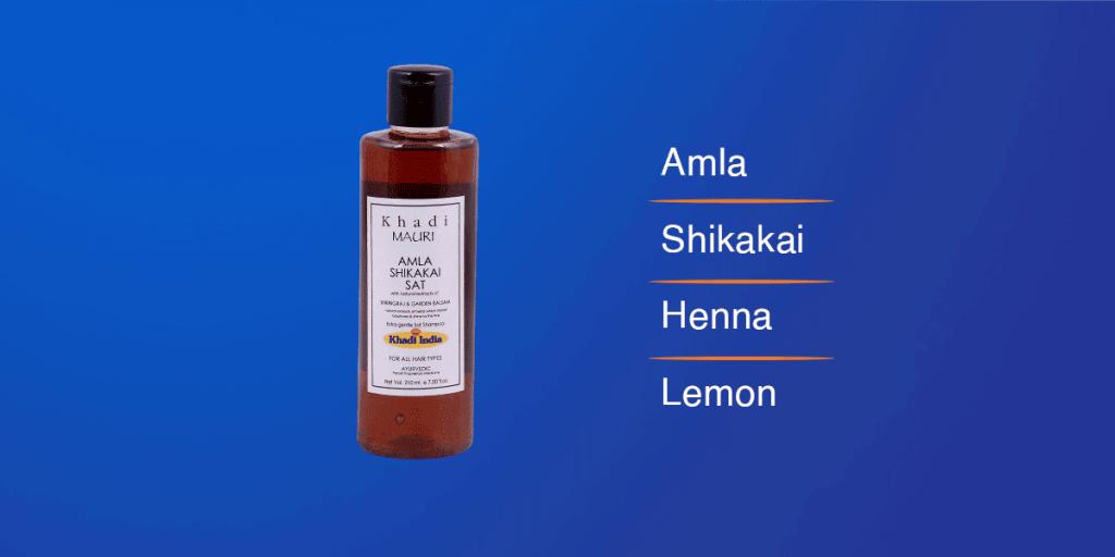Khadi Shikakai & Amla Shampoo