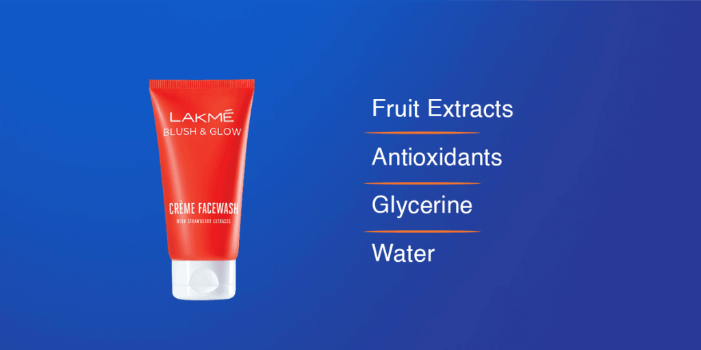 Lakme Blush & Glow Creme Face Wash