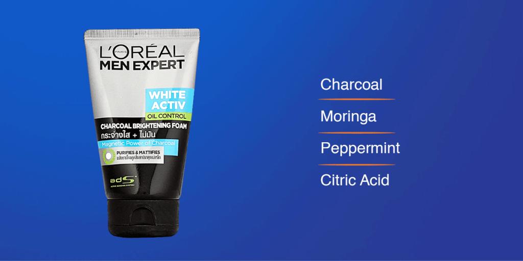 Loreal Charcoal Fce Wash