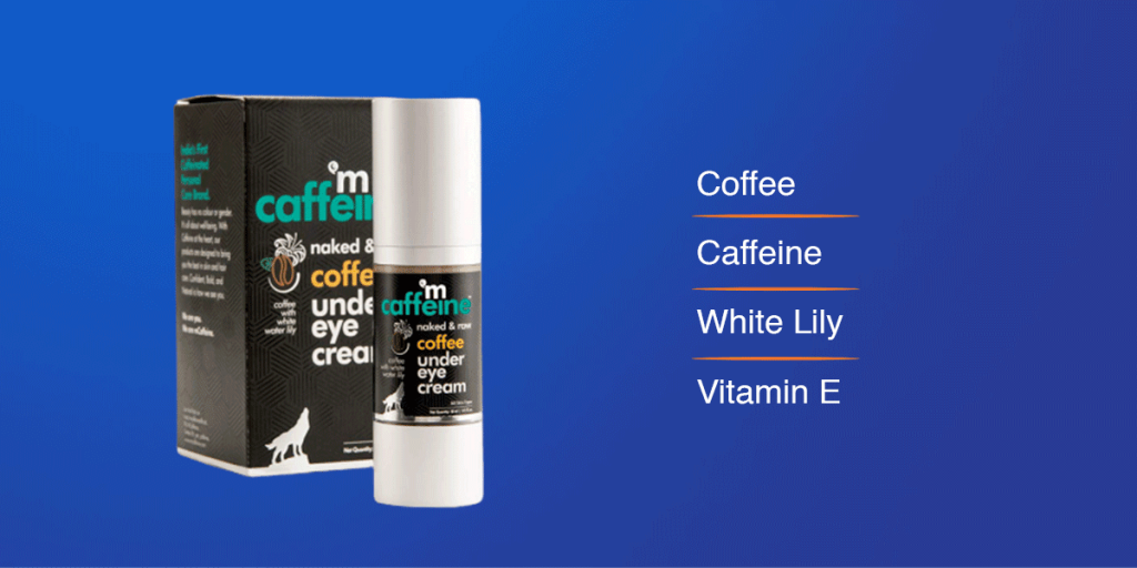 mCaffeine under eye cream